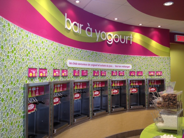 yogurt bar