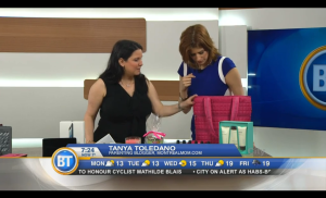 Tanya Toledano & Joanne Vrakas on Breakfast Television for Mother's Day