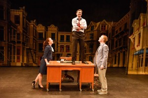 Marie-Pierre de Brienne,Ken James Stewart & David Coomber (Duddy Kravitz Musical) - Photo by Maxime CìtÇ (2)