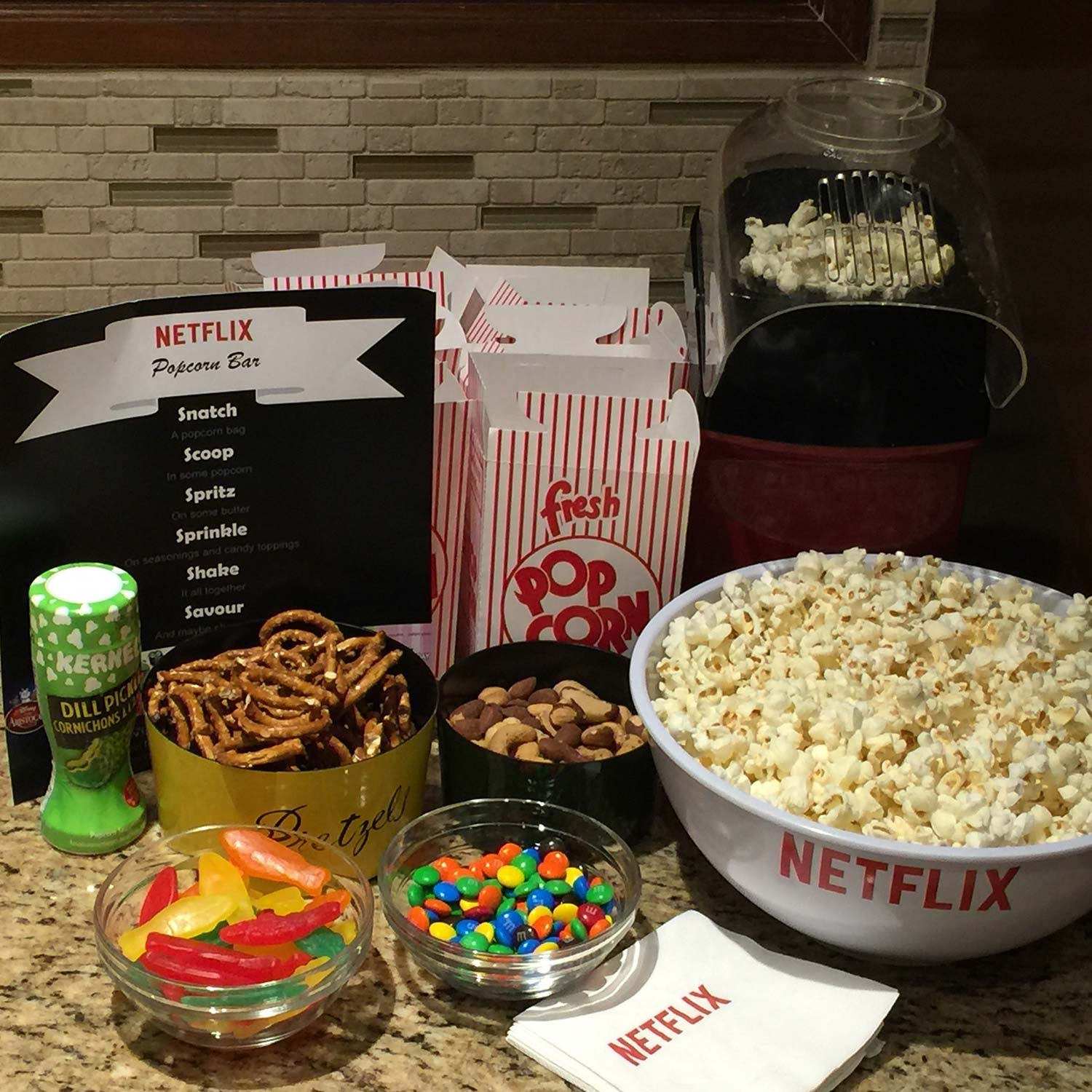 first date movie night at home