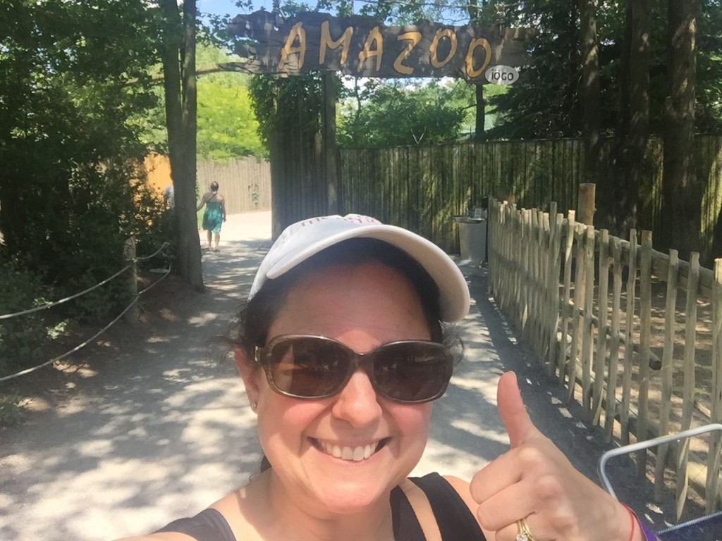 Excited to get to the AMAZOO already!