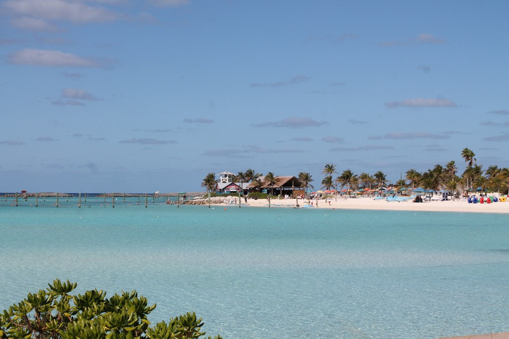 Beach at Disney's Private Island - Castaway Cay