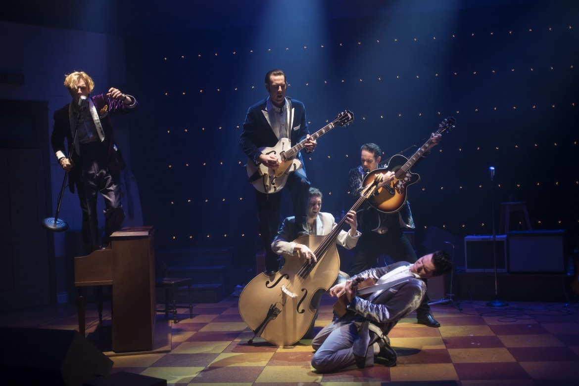 8856_Graham, Murphy, Stewart, Seals, Krissa-Million Dollar Quartet_2017 (photo by Andree Lanthier)