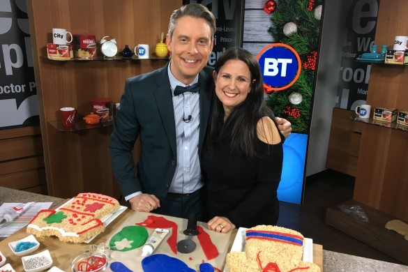 Tanya & Derick #TreatsForToys on BT Montreal