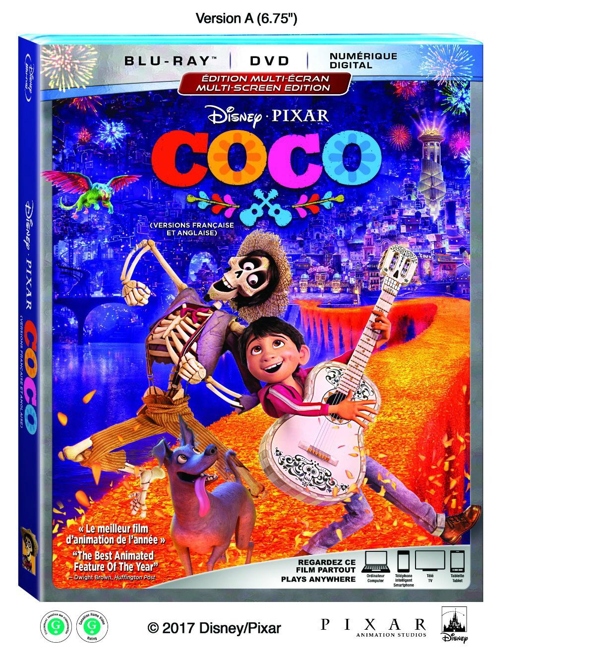 enter to win a copy of disney pixar s u201ccoco u201d on dvd blu ray rh montrealmom com