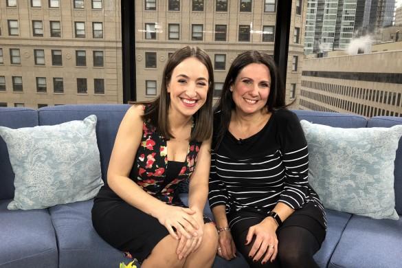 Tanya Toledano and Tina Teneriello Breakfast Television Montreal